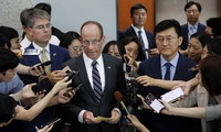 US to maintain sanction in tandem with nuclear talk resumption