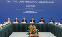 Chinese, US political party leaders hope for early end of trade friction