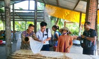 Visiting a noodle factory in the Mekong Delta