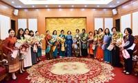 ASEAN women delegation welcomed in Ha Noi