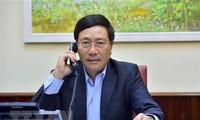 Vietnam, Japan  discuss cooperation in COVID-19 combat