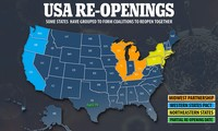 4 US states likely to reopen in early May