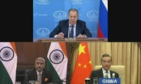 Russia, India, China support relations based on international law