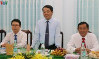 VFF leader congratulates Hoa Hao Buddhism anniversary