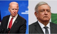 US President-elect Biden, Mexico's president vow to cooperate on immigration