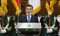 US reaffirms alliance with South Korea, Japan