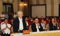 Nguyen Phu Trong vows utmost efforts if elected to National Assembly