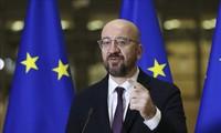 EU leaders discuss the bloc's global role