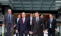 PM Nguyen Xuan Phuc memulai aktivitas – aktivitas dalam kehadiran KTT Istimewa ASEAN – Australia