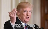 Presiden AS masih sedang mempertimbangkan saat serangan terhadap Suriah