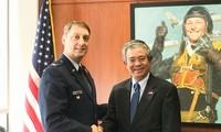 Dubes Vietnam untuk AS, Pham Quang Vinh mengunjungi Akademi Angkatan Udara AS