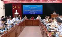 "Sarasehan ilmu pengetahuan internasional: ""Pekerjaan pembangunan Partai pada tahap baru: Pengalaman Vietnam dan Tiongkok"""