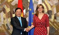 Aktivitas  Deputi PM, Menlu Vietnam, Pham Binh Minh di Bulgaria