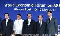 Vietnam akan menyambut baik angka rekor para kepala negara yang menghadiri Forum Ekonomi Dunia tentang ASEAN