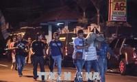 Polisi Indonesia menangkap banyak anasir teroris yang berafiliasi dengan IS