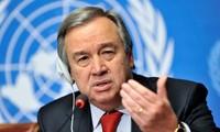 Sekjen PBB mendorong upaya-upaya perdamaian di Semenanjung Korea