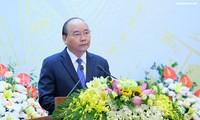 PM Vietnam, Nguyen Xuan Phuc memimpin Resepsi internasional sehubungan dengan Hari Nasional Vietnam (2/9)