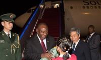 Presiden Afrika Selatan mengunjungi Tiongkok bertujuan mendorong kerjasama ekonomi