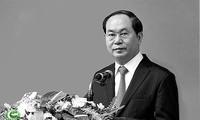 Pemimpin negara-negara menyampaikan tilgram belasungkawa atas wafat-nya Presiden Vietnam, Tran Dai Quang