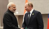 Presiden Rusia, Vladimir Putin mengunjungi India