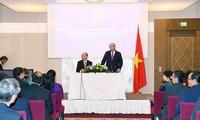 PM Vietnam, Nguyen Xuan Phuc bertemu dengan wakil komunitas orang Vietnam di Austria dan beberapa negara Eropa