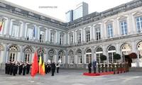 PM Vietnam, Nguyen Xuan Phuc mulai menghadiri ASEM 12, melakukan kunjungan kerja di Uni Eropa dan melakukan kunjungan resmi di Kerajaan Belgia