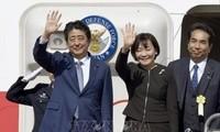 PM Jepang, Shinzo Abe memulai kunjungan di negara-negara Asia Tenggara dan Oseania