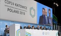 Komunitas internasioanl berupaya melaksanakan Perjanjian Paris tentang perubahan iklim