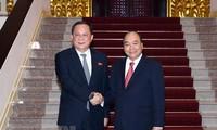 KCNA membuat berita tentang kunjungan Menlu RDRK di Vietnam