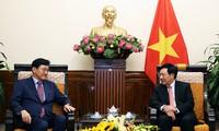 Deputi PM, Menlu Vietnam Pham Binh Minh menerima Deputi Menlu, Kepala SOM-ASEAN Republik Korea