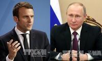 Pemimpin Rusia dan Perancis melakukan pembicaraan telepon tentang situasui Suriah dan Ukraina