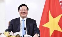 Memanfaatkan keunggulan dari diplomasi rakyat, menciptakan perekat yang mengaitkan bagi hubungan antara Vietnam dan negara-negara