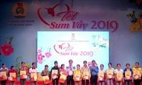 "Kepala Departemen Ekonomi KS PKV, Nguyen Van Binh menghadiri Program ""Hari Raya Tet Berkumpul"" di Provinsi Quang Ngai"
