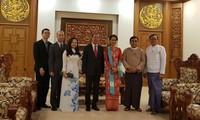Utusan Khusus PM, Deputi Menlu Vietnam, Nguyen Quoc Dung mengunjungi Mianmar
