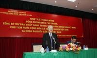 """Sekjen, Presiden Vietnam, Nguyen Phu Trong: Melakukan secara baik peran """"jembatan penghubung"""" dari persahabatan dan kerjasama Vietnam – Laos"""