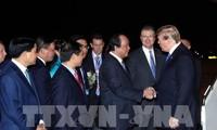 Media internasional menanti-nantikan perkembangan Pertemuan Puncak ke-2 AS-RDRK setelah Presiden AS tiba di Vietnam