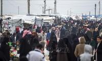 Konferensi ke-3 tentang bantuan keuangan bagi Suriah di Brussels, Belg