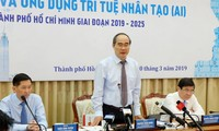 Kota Ho Chi Minh cukup persyaratan menjadi pusat penelitian dan penerapan kecerdasan buatan