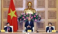 PM Nguyen Xuan Phuc melakukan temu kerja dengan Pengurus Besar Liga Pemuda Komunis Ho Chi Minh