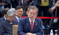 Presiden Republik Korea mengadakan pertemuan puncak istimewa dengan para pemimpin ASEAN