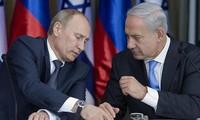 Rusia dan Israel membahas kerjasama militer dan situasi Timur Tengah