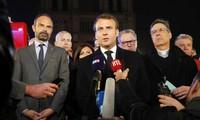 Persentase dukungan kepada Presiden Perancis Emmanuel Macron tetap di tarap rendah