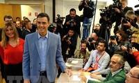 Spanyol: Hasil sementara pemilu sebelum batas waktu