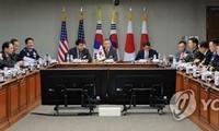 Kasus peluncuran benda terbang RDRK mencakup dialog keamanan Republik Korea – AS – Jepang