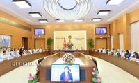 Meneruskan agenda persidangan ke-34 Komite Tetap MN