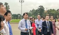 """Konferensi evaluasi masa 10 tahun pelaksanaan penggerakan """"Orang Vietnam memprioritaskan penggunungan barang Vietnam"""" dari cabang Industri dan Perdagangan"""