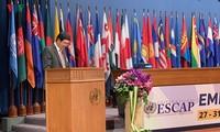 Vietnam menghadiri persidangan ke-75 ESCAP