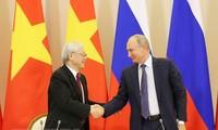 Hubungan kemitraan strategis dan komprehensif Vietnam – Rusia semakin berkembang