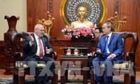Kota Ho Chi Minh dan AS mendorong kerjasama meningkatkan sumber daya manusia