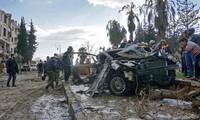 Banyak warga sipil terluka dalam serangan bom dengan mobil di Suriah Timur Laut